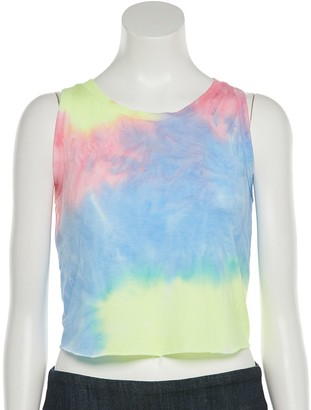 So Juniors' Cropped Muscle Tank Top