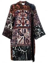 Chloé tapestry jacquard wrap coat