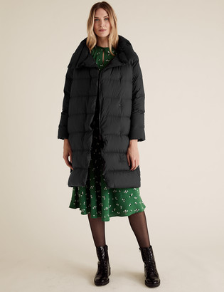 Marks and Spencer Feather & Down Duvet Puffer Coat