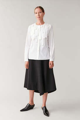 Cos SHIRT WITH STRAP DETAIL