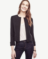 Ann Taylor Scalloped Jacket