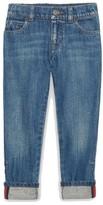 Gucci Boy's Straight Leg Jeans