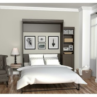 Latitude Run Beecroft Murphy Bed Size: Queen, Headboard Color: Dark Chocolate