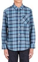 Volcom 'Gaines' Woven Plaid Shirt (Big Boys)