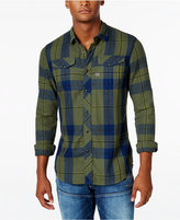 G Star Men's Long-Sleeve Tacoma Plaid Shirt