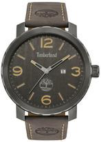 Timberland Men&s Pinkerton Leather Watch