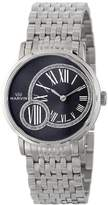 Marvin Women's M025.12.74.12 Origin Black Dial Stainless Steel Bracelet Watch