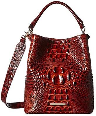 Brahmin Amelia (Pecan) Cross Body Handbags