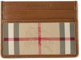 Burberry 'Horseferry Check' cardholder - men - Leather/Polyamide - One Size