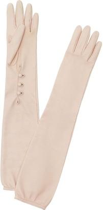 Fendi Long Buttoned Gloves