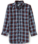 Class Club Big Boys 8-20 Large Plaid Sportshirt
