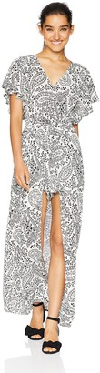 Jack by BB Dakota Junior's Electric Feels Paisley Printed Dress with Shorts