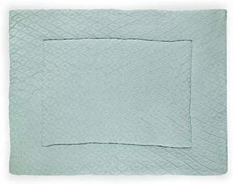 Camilla And Marc Jollein 017 Diamond Knit Vintage 513 65077 Crawling Blanket 80 x 100 cm, Green