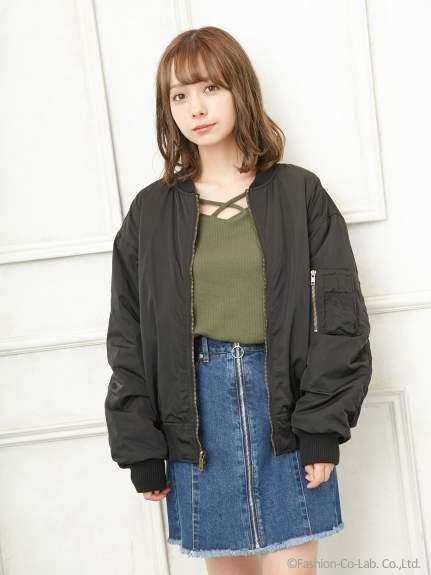 INGNI (イング) - イング 前ZIP 台形 スカート