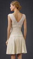J. Mendel Sleeveless Double V Dress