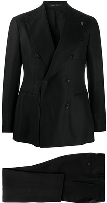 Tagliatore Tailored Double-Breasted Suit
