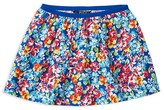 Ralph Lauren Girls' Floral Twill Skirt - Sizes 2-6X