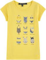 Lili Gaufrette Printed T-shirt