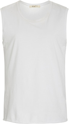 Nili Lotan Sleeveless Cotton-Jersey Muscle Tee