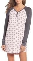 PJ Salvage Women's Henley Nightshirt