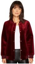 Members Only Velvet Bomber Jacket Women's Coat
