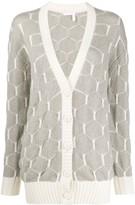 See by Chloe patterned knit cardigan