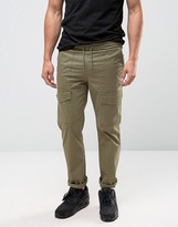 New Look Cargo Trousers In Khaki