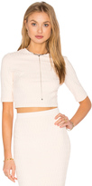Twenty Honeycomb Stretch Crop Top