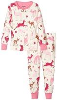 Hatley Deer and Bunnies Pajama Set (Toddler/Little Kids/Big Kids)