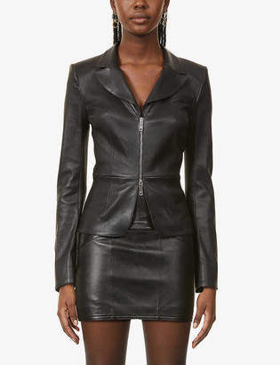 Jitrois Laeticia zipped leather jacket