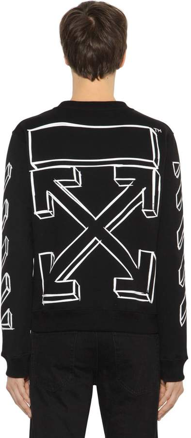 Off-White Slim Fit Marker Arrows Sweatshirt