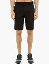 Jil Sander Black Jersey Chino Shorts