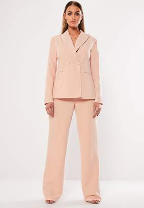 Missguided Stone Co Ord Fitted Blazer