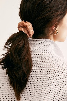 Free People Good As Gold Scrunchie