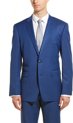 Vince Camuto Slim Fit Wool-Blend Suit With Flat Front Pant