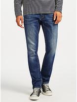 Denham Razor Jeans, Dark Blue