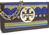Embroidered Reva Clutch
