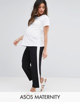 Asos Wide Leg Stripe Pant
