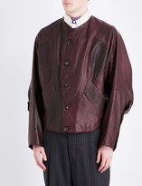 Vivienne Westwood Panelled leather jacket