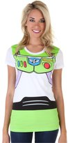 Disney Toy Story Buzz Lightyear Costume Junior Ladies T-Shirt
