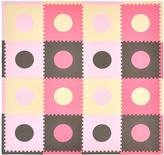 Tadpoles Pink & Brown Circle Playmat Set