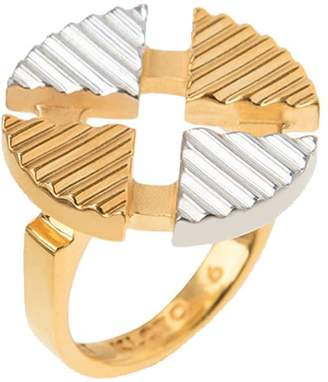 Kloto Kod.111 Essential Gold & Silver Ring
