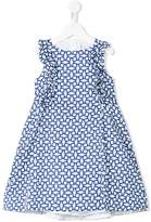 Simonetta tile print dress