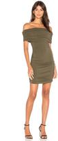 Bobi BLACK Off Shoulder Mini Dress