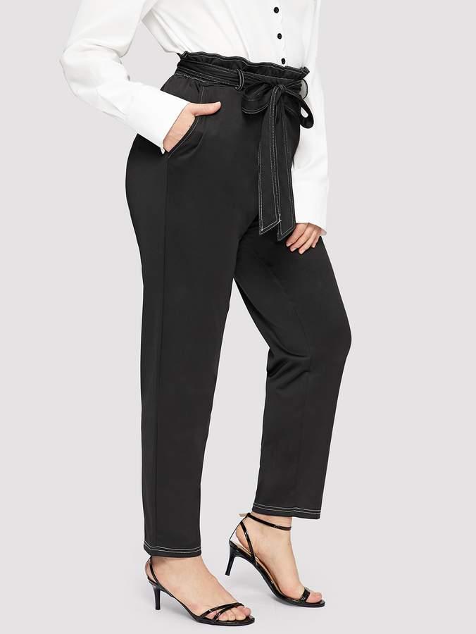 7026162768 Paper Bag Waist Pants - ShopStyle