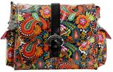 Kalencom Laminated Buckle Changing Bag (Mango Paisley) by