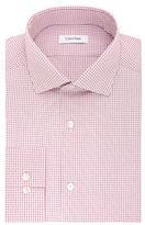 Calvin Klein Cotton Checked Dress Shirt