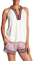 Soft Joie Yvanna Embroidered Tank Top