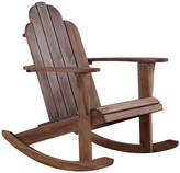 Asstd National Brand Adirondack Patio Rocking Chair