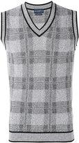 Ballantyne checked sweater vest - men - Cotton/Polyamide/Polyester/Viscose - 54